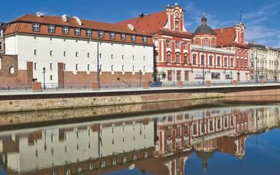 Gmach Ossolineum we Wrocławiu.