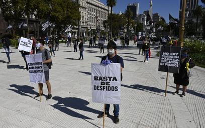 Argentyńczycy protestują przeciwko zamknięciu gospodarki w związku z pandemią
