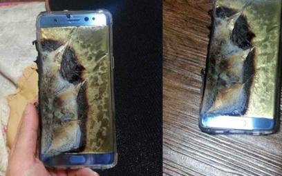 Zdjęcia spalonych smartfonów Note 7 zaczęły krążyć w sieci 30 sierpnia / KKJ.CN