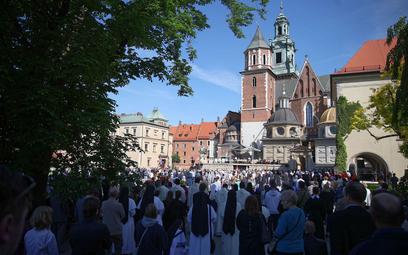 Msza święta z okazji uroczystości Bożego Ciała w Krakowie