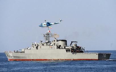 "Fregata ""Jamran"". Fot./Wikipedia/Mohammad Sadegh Heydari."