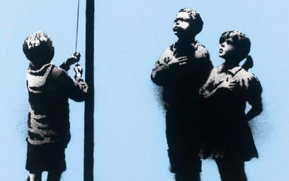 """Fot: Banksy, """"Very Little Help""""/ Artcels"""