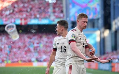 Euro 2020: Belgia pokonała Danię. De Bruyne bohaterem
