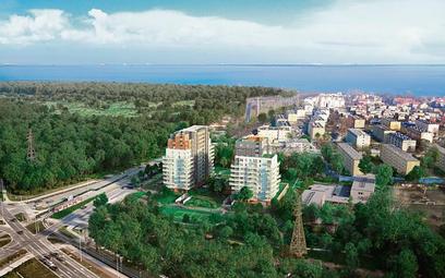 Atal Baltica Towers to dwie wieże: aparthotelowa i mieszkaniowa.