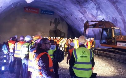 Zakopianka: pierwszy tunel przebity