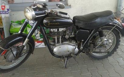Skradziony motocykl Junak