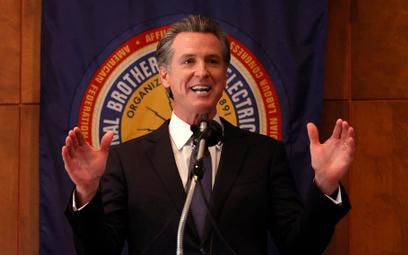 Gubernator Kalifornii Gavin Newsom