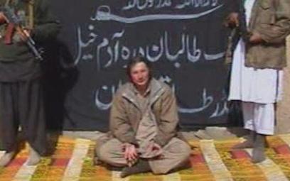 Kadr z filmu z egzekucji Piotra Stańczaka