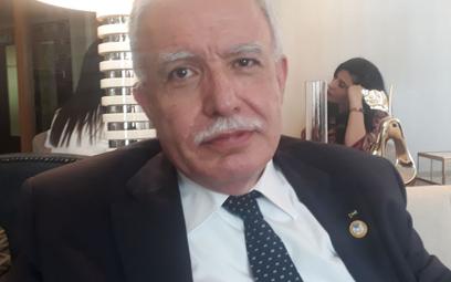 Riad Malki jest ministrem spraw zagranicznych Autonomii Palestyńskiej (Palestyńskiej Władzy Narodowe