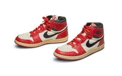 Buty Nike Air Jordan 1, fot: Sotheby's