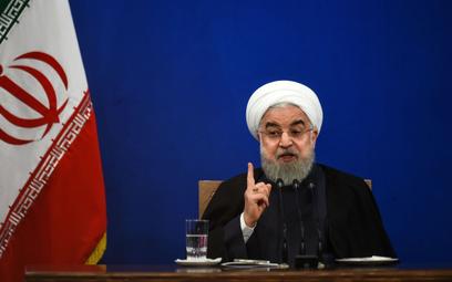 Prezydent Hassan Rouhani
