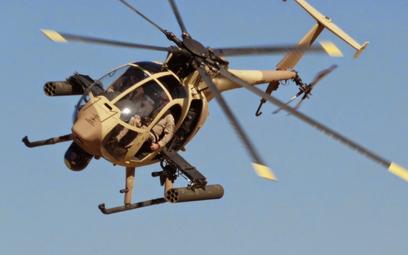 Lekki śmigłowiec bojowy Boeing AH-6i. Fot./Boeing.