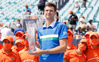 Hubert Hurkacz został mistrzem Miami Open