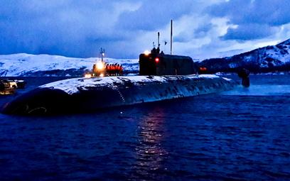Jeden z okrętów biorących udział w operacji na Północnym Atlantyku. Fot./mil.ru