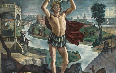 "Roman Kramsztyk Legenda o koronie"", 1916 r"