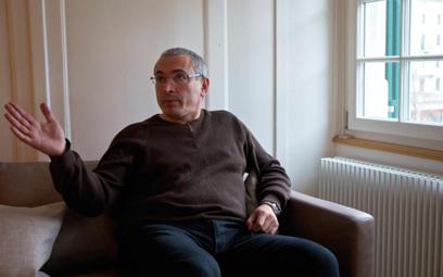 Interpol odmawia ścigania Chodorkowskiego