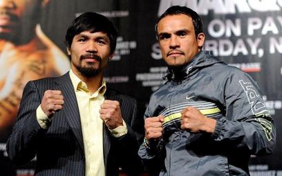 Juan Manuel Marquez (z prawej) i Manny Pacquiao