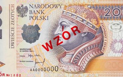 Banknot 200 zł lepiej zabezpieczony