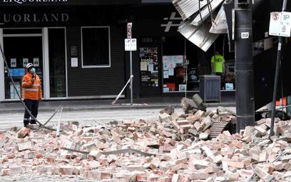 Melbourne po trzęsieniu ziemi