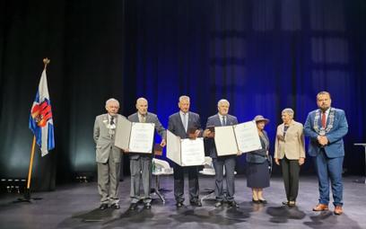 Wyróżnieni medalem Cracoviae Merenti