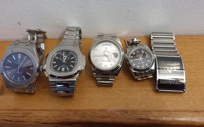 Zegarki to waluta dla gangsterów. Które marki wybierają?