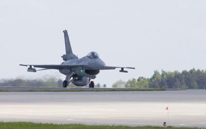 F-16 Polskich Sił Powietrznych. Fot./Marian Zubrzycki