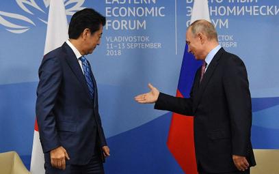 """Putin chce traktatu pokojowego z Japonią. """"Bez warunków wstępnych"""""""