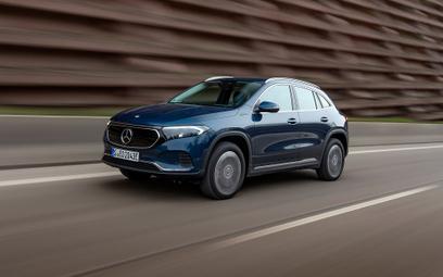 Napęd na wszystkie koła dla elektrycznego Mercedes EQA