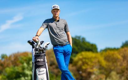 27-letni Adrian Meronk zawodowym golfistą jest od roku 2016. W przyszłym roku zagra na igrzyskach w