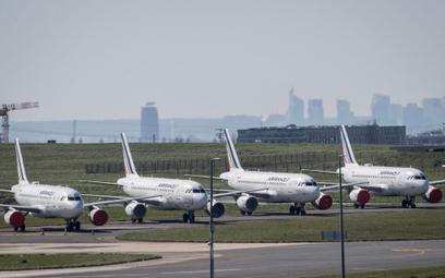 Uziemione samoloty Air France na paryskim lotnisku im. de Gaulle'a