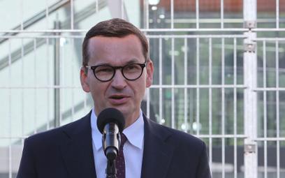 Premier Morawiecki o sytuacji na granicy z Białorusią: Polska nie ulega