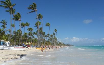 Rekordowy wrzesień na plażach Dominikany. Cały sezon prawie jak przed pandemią