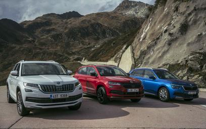 Trzy SUV-y Skody: Podróż Kodiaqiem, Karoqiem i Kamiqiem