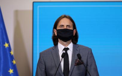 Wiceminister zdrowia Piotr Bromber