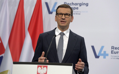 Morawiecki: Kłamstwo opozycji ws. polexitu wywoływane, aby osłabić całą UE