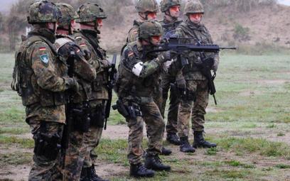 Ćwiczenia żołnierzy Wielonarodowego Korpusu Północno - Wschodniego w Szczecinie