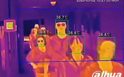 Jak kamery termowizyjne pomagają w walce z epidemią?