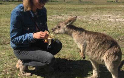 W Australii Monika Banyś zachwyca się przyrodą i zdobywa umiejętności, które otworzą jej nowe możliw