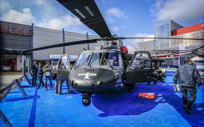 Śmigłowiec bojowy Black Hawk Sikorsky firmy PZL Mielec Fot./Roman Bosiacki