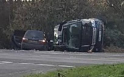 Zdjęcie tygodnia: Wypadek księcia Filipa i dyskusja o seniorach za kierownicą