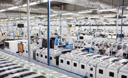 Fabryka części do iPhone`ów należąca do koncernu Foxconn