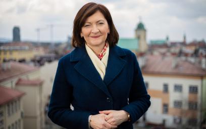 Ewa Leniart, wojewoda podkarpacki, kandydatka PiS w wyborach na prezydenta Rzeszowa