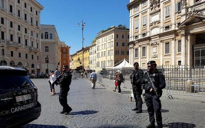 Rzym barykaduje się przed terrorystami