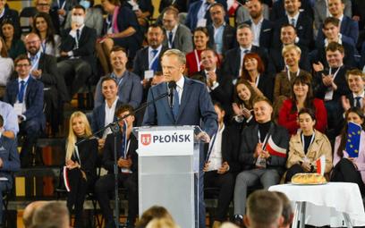 Tusk: Patriotyzm oznacza wielkie zadanie - utrzymania Polski w UE