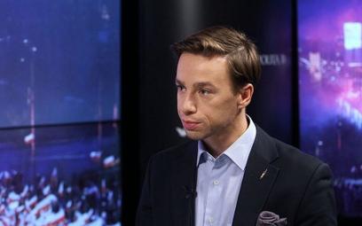 Krzysztof Bosak o debacie TVP: Musiałem zagrozić użyciem siły
