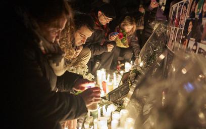 Miejsce pamięci ofiar katastrofy PS752 w Toronto. Na pokładzie zestrzelonego samolotu było 63 obywat