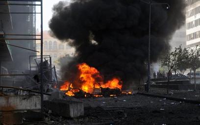 Eksplozja w Bejrucie zabiła kilka osób, w tym byłego ministra finansów Mohammeda Szataha
