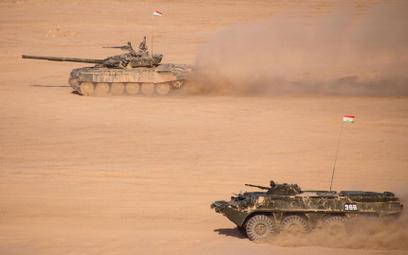 Ćwiczenia rosyjskich wojsk przy granicy z Afganistanem