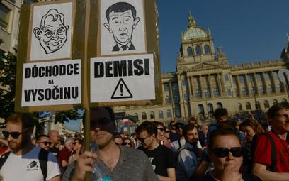 Czechy: Największy protest w Pradze od czasu upadku komunizmu
