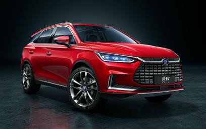 Chiński elektryczny SUV trafi na europejski rynek